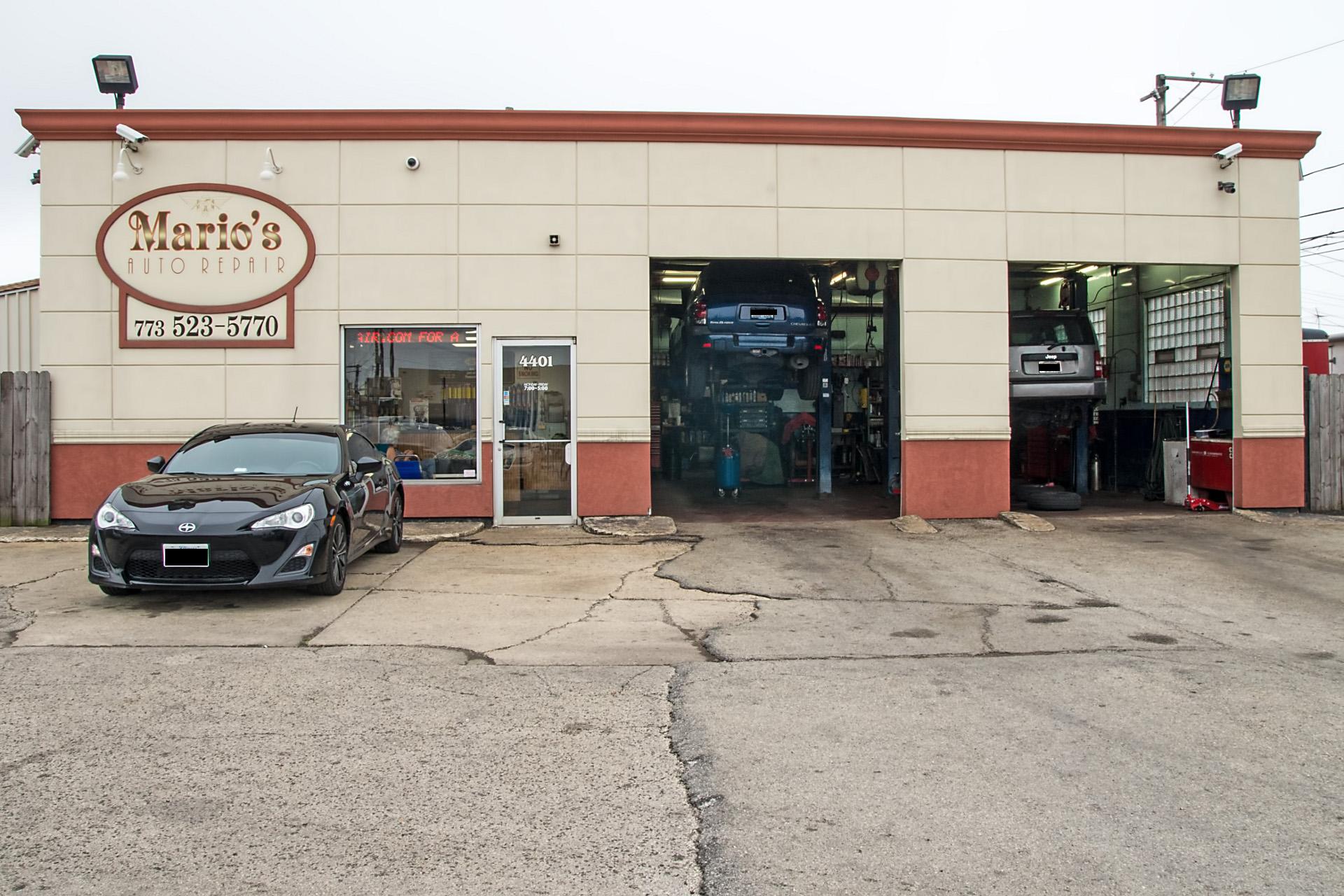 Mario 39 s auto repair mario 39 s auto repair inc 773 523 for Garage villeneuve auto service